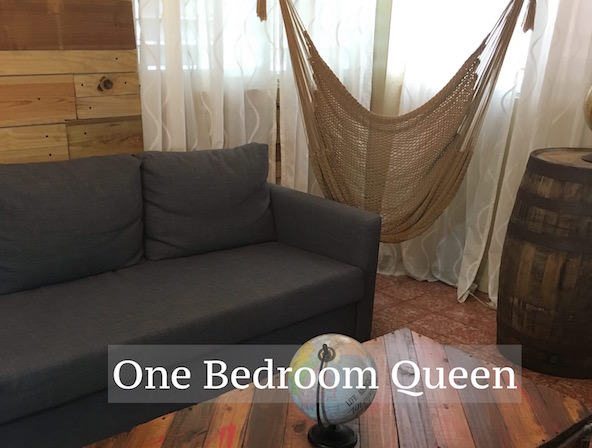 Queen One bedroom %22La Fabrica%22 sleeps 2-6