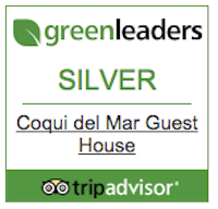 Greenleaders certification from TripAdvisor