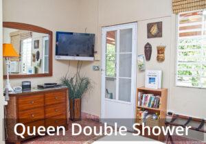 Queen Double Shower